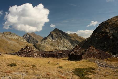 disused: mina abandonada en Pirineos aragoneses
