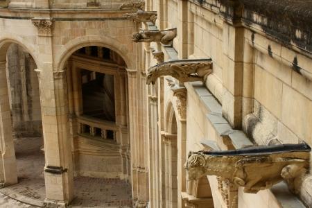 gargoyles: gargoyles at Chambord Chateau