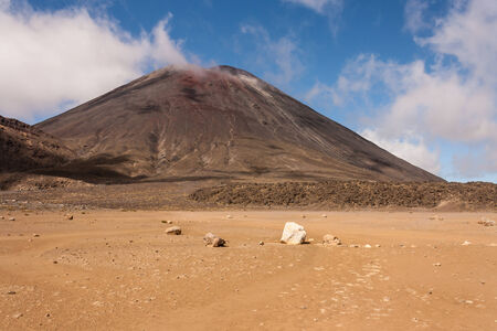 tongariro: volcano in Tongariro National Park