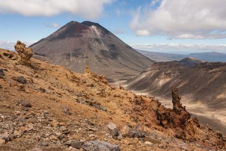 tongariro: volcanic valley in Tongariro National Park