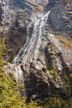 tongariro national park: waterfall in Tongariro National Park