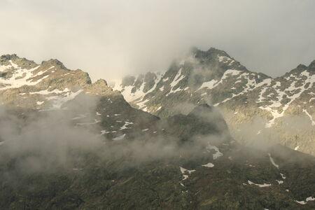 high sierra: peaks of Sierra de Gredos Stock Photo