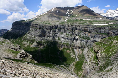 massif: Massif in the Ordesa Valley, Spain