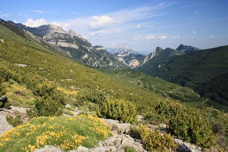 ordesa: Ordesa National Park - Pyrenees Stock Photo