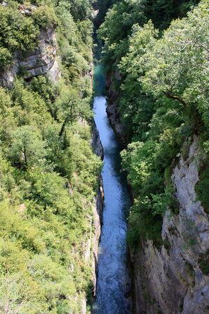 ordesa: River Canyon in Ordesa National Park