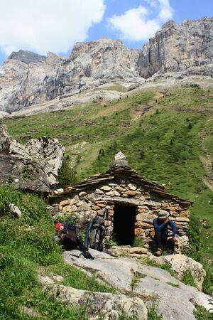 Mountain Hut in Ordesa National Park