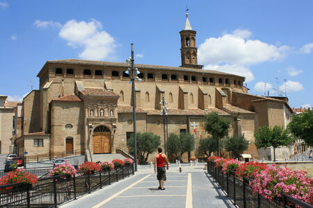 episcopal: Palace in Barbastro, Spain