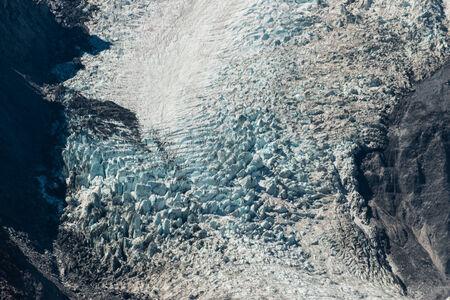 franz: flowing glacier Stock Photo