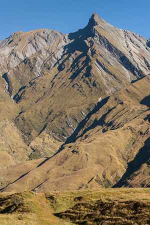 aspiring: mountain range in Mount Aspiring National Park