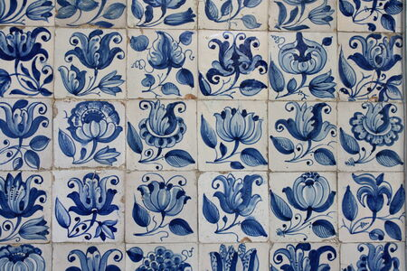 traditional portuguese azulejos photo