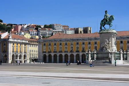 Praca de Comercio in Lisbon photo