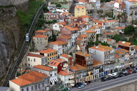oporto: shanty town in Oporto