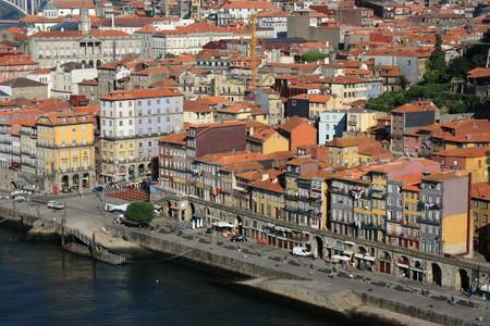 oporto: Ribeira - Oporto, Portugal  Editorial