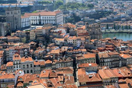 aerial view of Porto photo