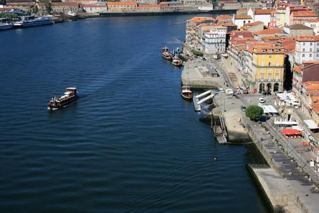 oporto: waterfront in Oporto - Northern Portugal  Editorial