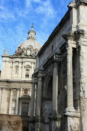 severus: Arch of Septimius Severus - Rome