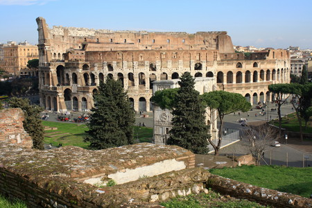 Flavian Amphitheatre in Rome photo