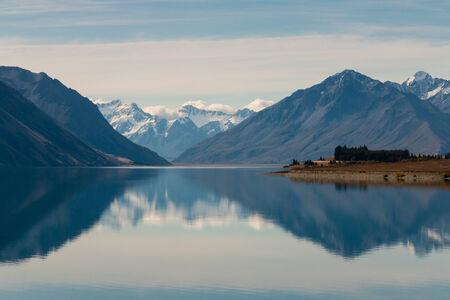 tekapo: lake Tekapo, New Zealand
