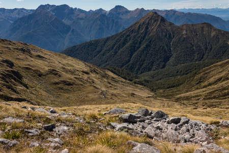 fiordland: Kepler Mountains in Fiordland National Park
