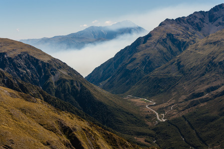inversion: inversion above Arthur s Pass