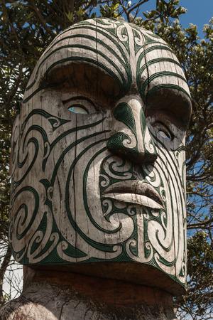 maories: detalle de los maor�es t�tem