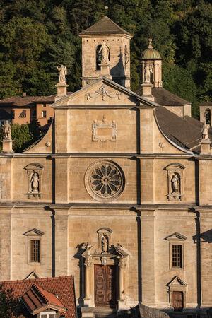 renaissance: Renaissance cathedral in Bellinzona Stock Photo