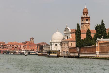 san michele: Saint Michael island in Venice Editorial