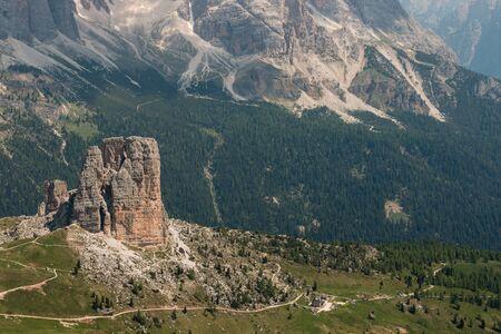 torri: Cinque Torri, Dolomites, Italy