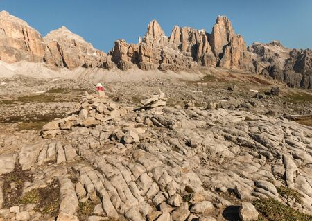 craggy: craggy peaks in Dolomites