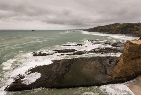 ranges: eroded cliffs at Waitakere Ranges