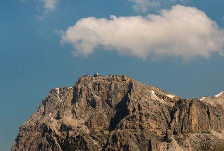 rock wall: rock wall in Dolomites