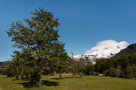 mount tronador: Tronador mountain in southern Andes