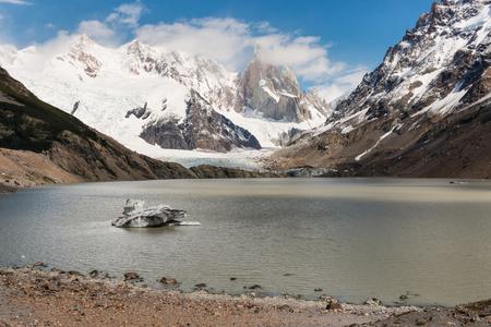 los glaciares: laguna Torre in Los Glaciares National Park