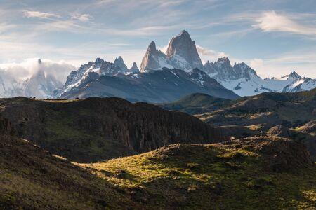 monte: Monte Fitz Roy panorama