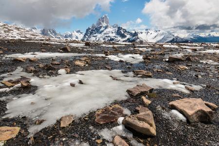 los glaciares: Los Glaciares National Park in early spring