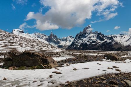 los glaciares: springtime in Los Glaciares National Park, Argentina Stock Photo