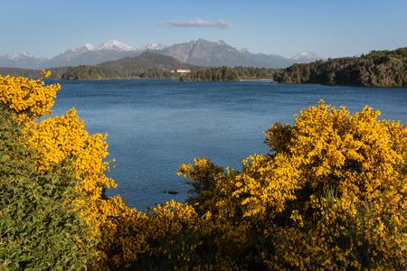 lake nahuel huapi: lake Nahuel Huapi, Argentina Stock Photo
