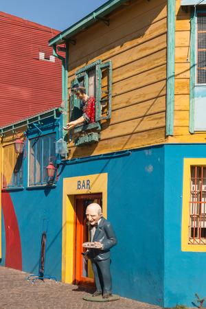 la boca: colorful houses in La Boca, Buenos Aires