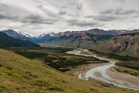 el chalten: Rio de las Vueltas river in Southern Patagonia