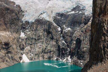 los glaciares: Laguna Sucia in Los Glaciares National Park