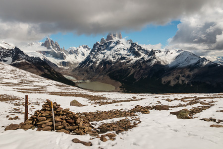 fitz: Cerro Torre and Mt Fitz Roy in Southern Patagonia