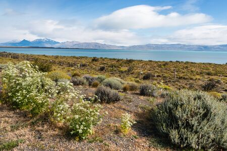 los glaciares: Argentino Lake, Patagonia, Argentina Stock Photo