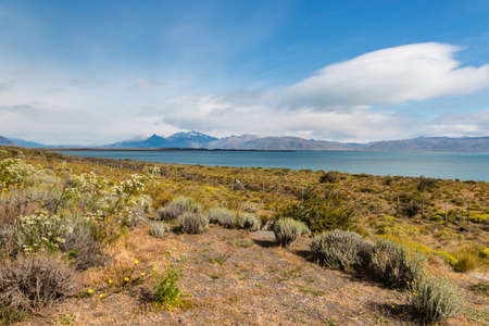 argentino: Argentino lake in Southern Patagonia Stock Photo
