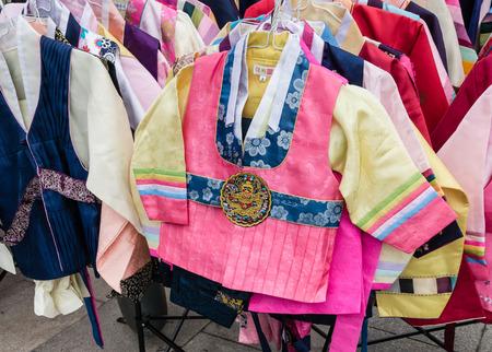 hanbok: tradtional Korean hanbok costumes