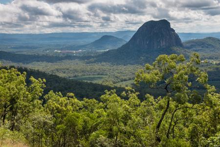 ガラス家山国立公園風景、クイーンズランド州、オーストラリア 写真素材