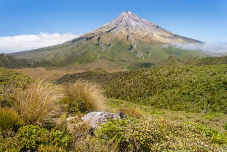 Mount Taranaki  Mount Egmont in Egmont National Park, North Island, New Zealand