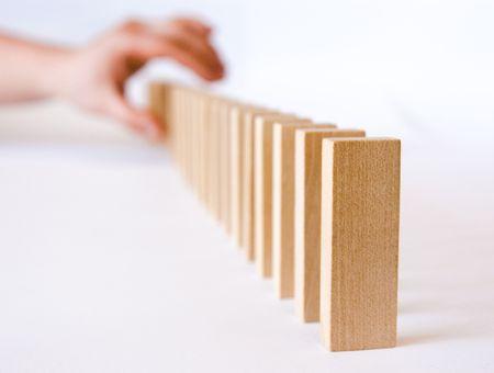 suspens: Hand essayer op�ration risqu�e pour corriger des d�fauts