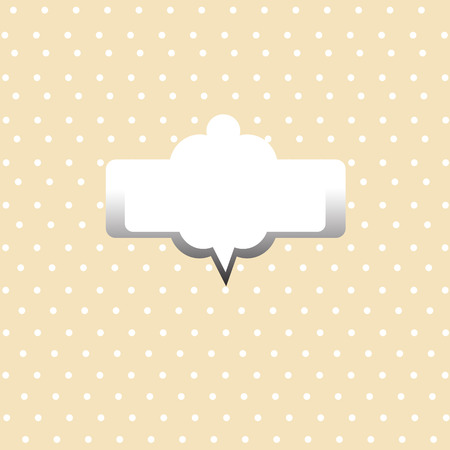 Dot Background And Frame  Vector