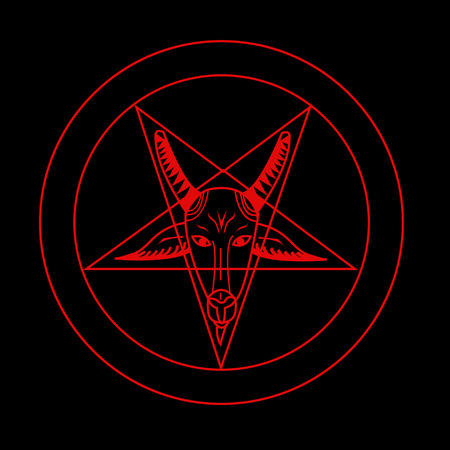 baal: Pentagram Symbol Vector for Use Illustration
