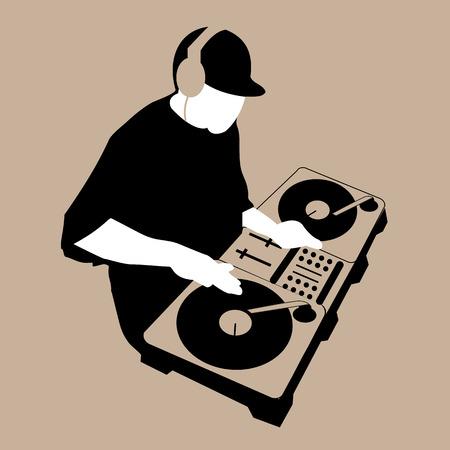 DJ Scratch Mixing Turntable